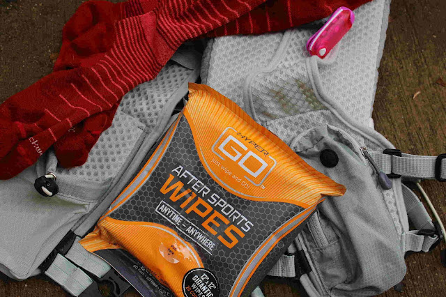 Hyper Go Wipes After Workout Run Race Shower Clean Up Quick On The Go