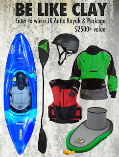 Enter the Be Like Clay Kayak Giveaway. Ends 5/8