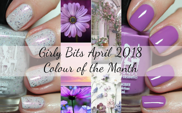Girly Bits April 2018 CoTM Bouquet Corral and My Peony Has A First Name