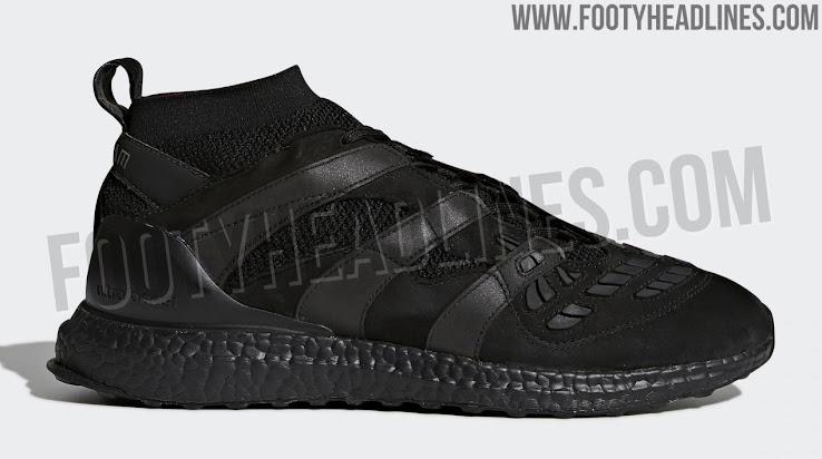 Triple Black Adidas Predator Accelerator David Beckham Ultra