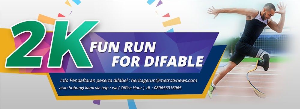 difabel Metro TV Heritage Run • 2018