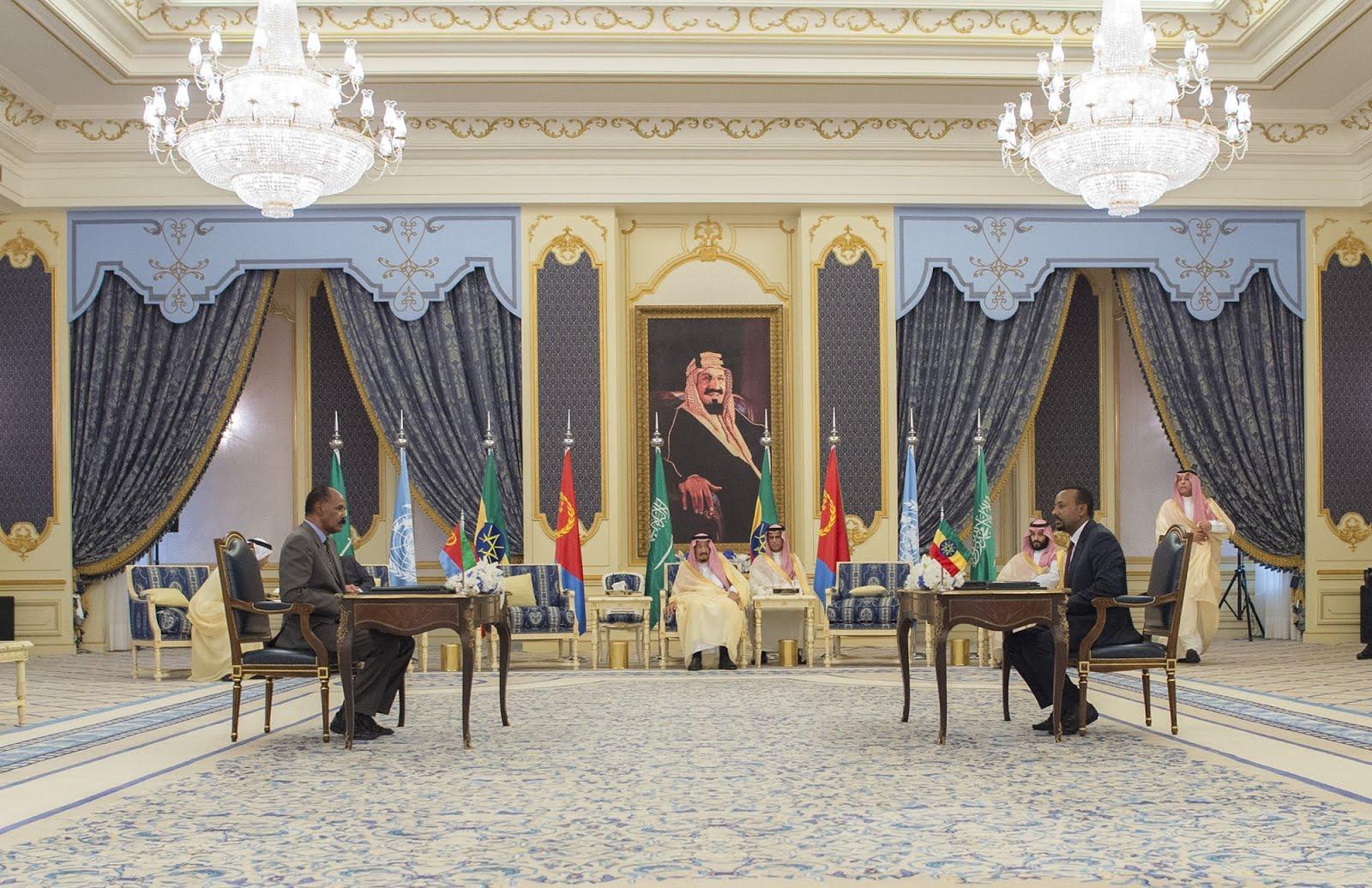 <Neutralizing Impending Threats to The Eritrea-Ethiopia Peace Agreement.