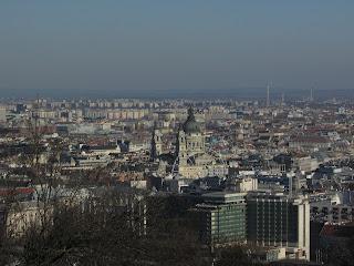 DIY costura: El gorro y la bufanda que me abrigaron en Budapest-Vistas desde el Monte Gellert 6