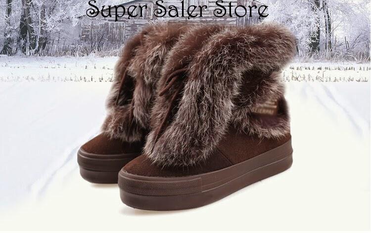 Wish Shopping Made Fun Christmas Brown Warm Leather Fur