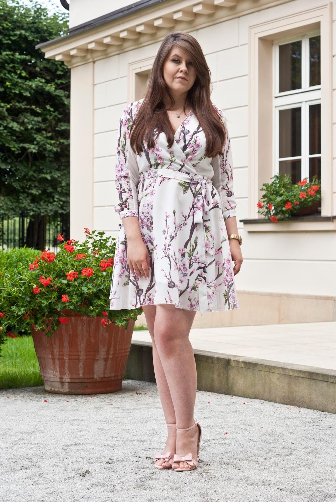 Kwiatowa Sukienka Weselna / Floral Dress