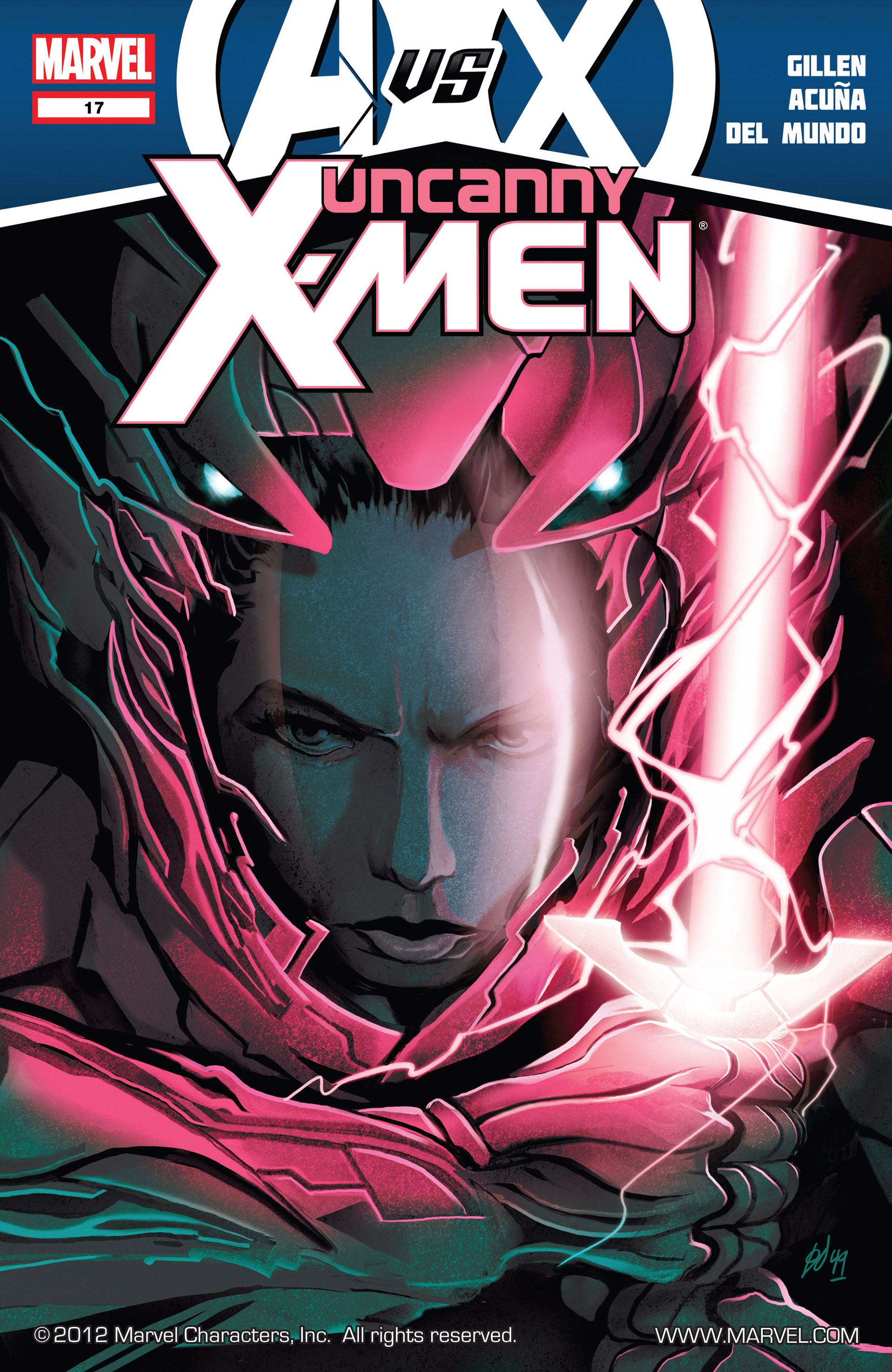 Read online Uncanny X-Men (2012) comic -  Issue #17 - 1