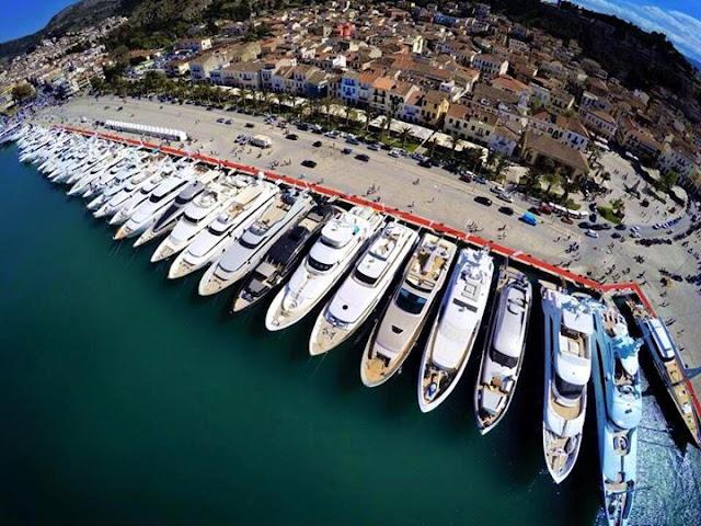 Ερχεται το «Mediterranean Yacht Show 2017» στο Ναύπλιο