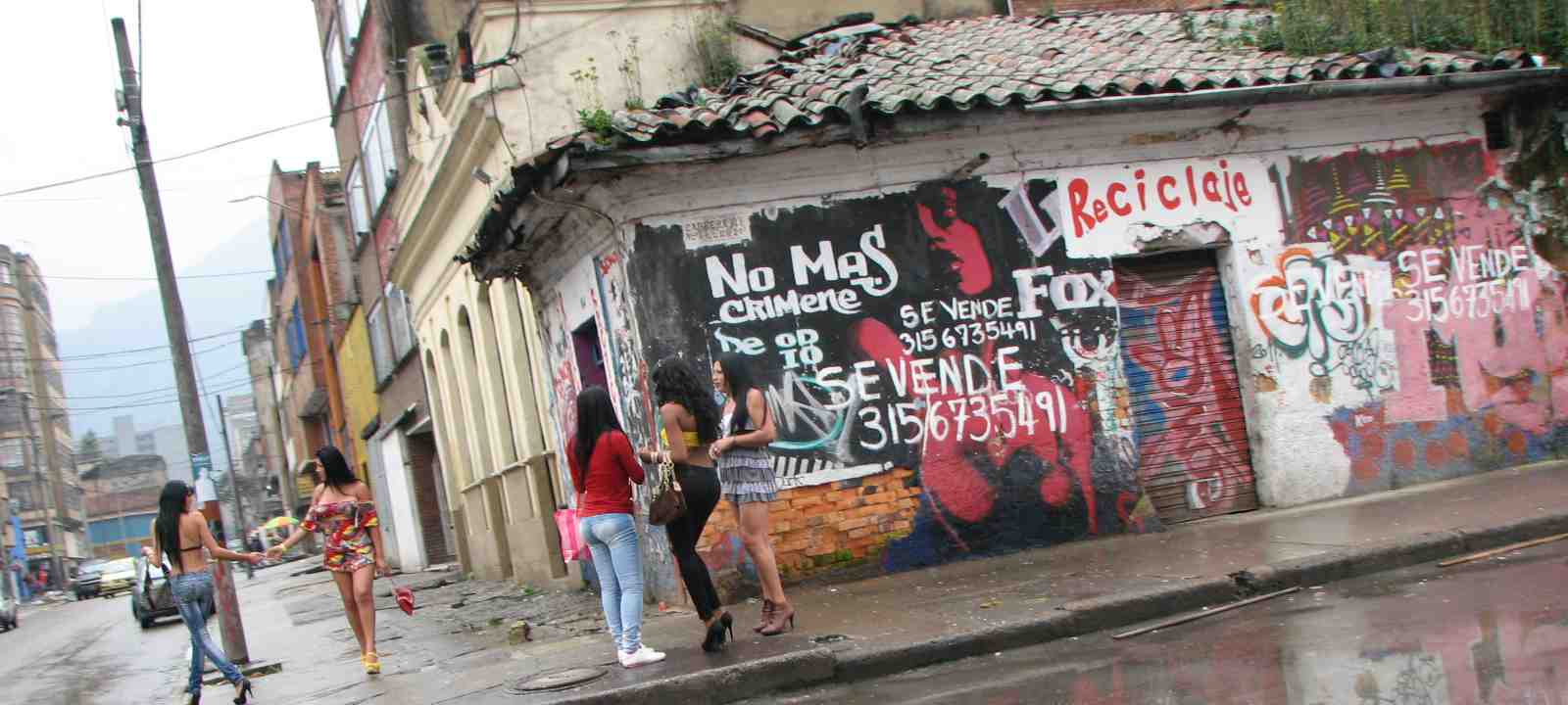 В колумбии богота проститутки