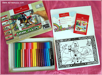paket colour to life dari faber-castell