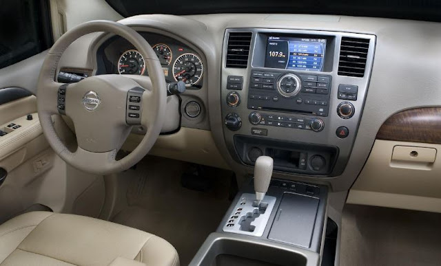 2017 interior Nissan Armada Review