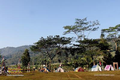 Bumi Perkemahan Jogja di Samigaluh Kulon Progo - Desa Wisata Tinalah