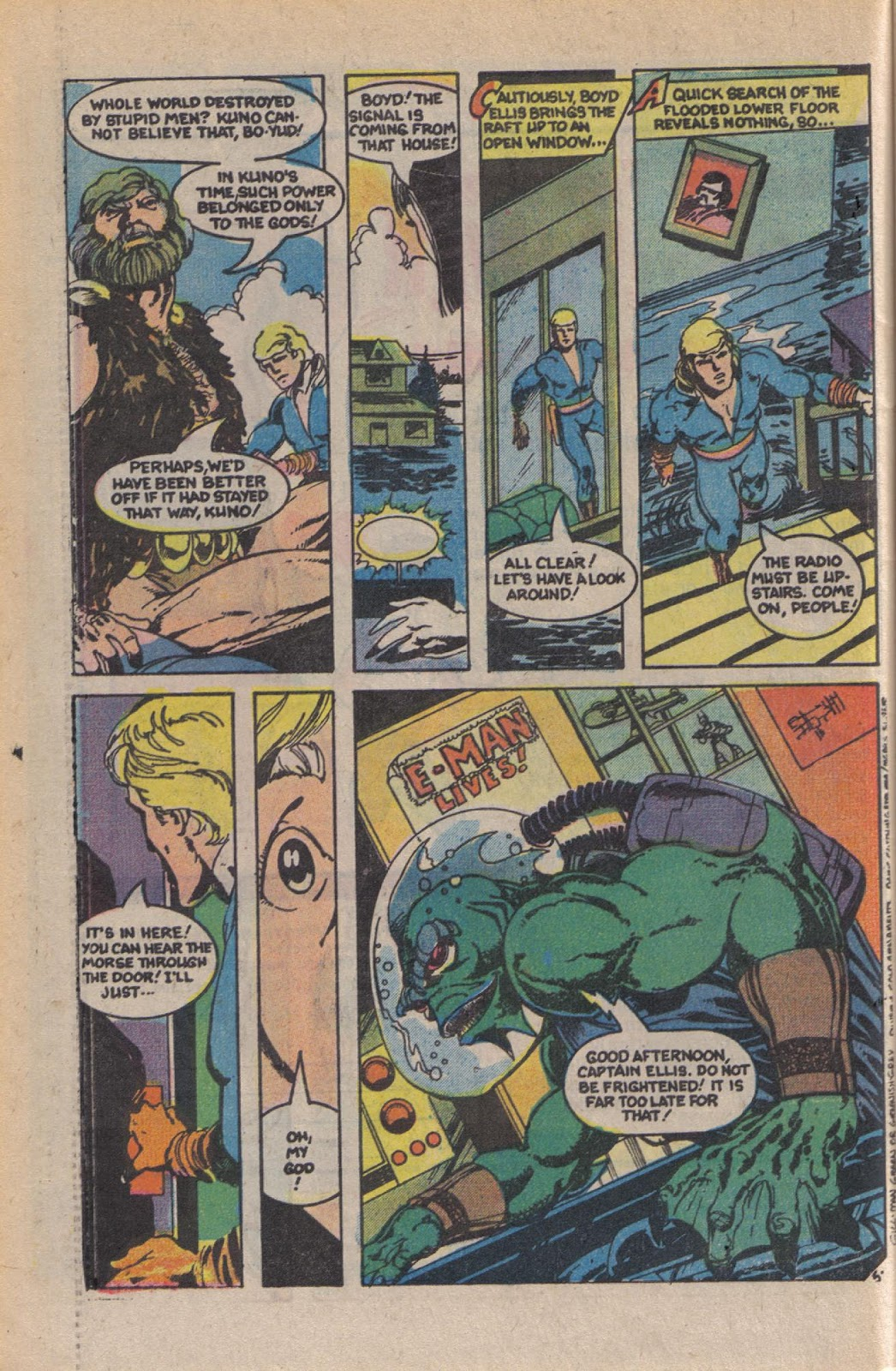 Read online Doomsday   1 (1975) comic -  Issue #10 - 8