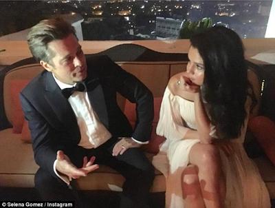 Selena Gomez gets dragged into the drama surrounding Brad Pitt & Angelina Jolie's shocking split