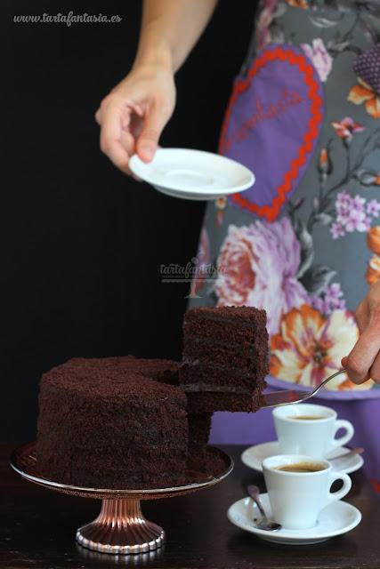 Cómo hacer un pastel de chocolate.