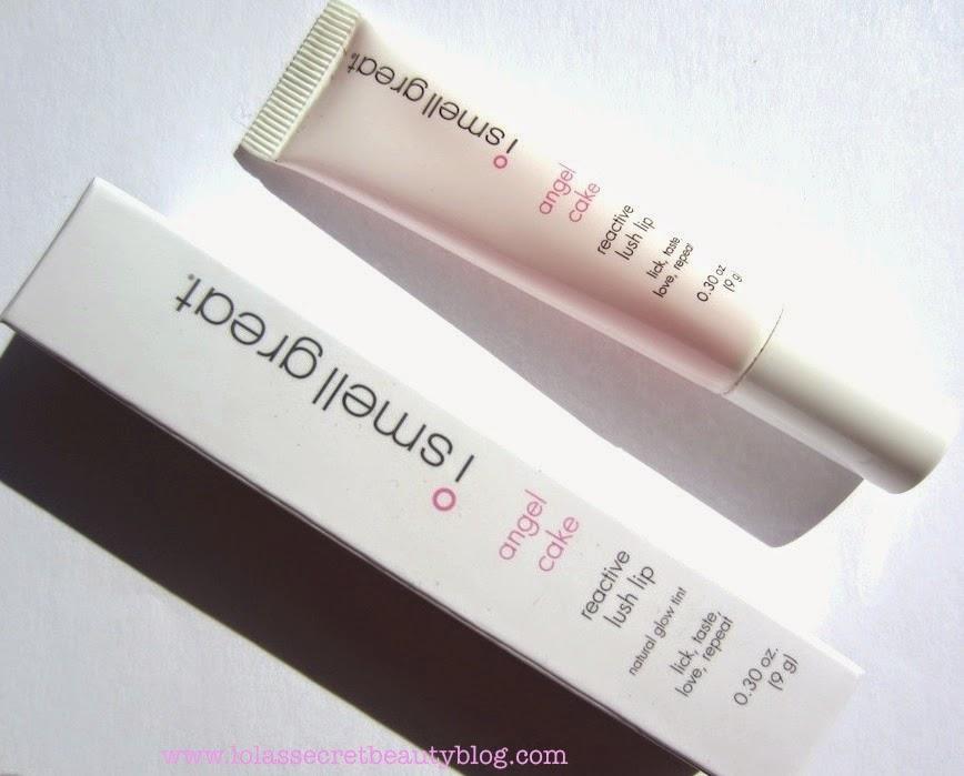 Lola S Secret Beauty Blog I Smell Great Angel Cake Reactive Lush Lip Review