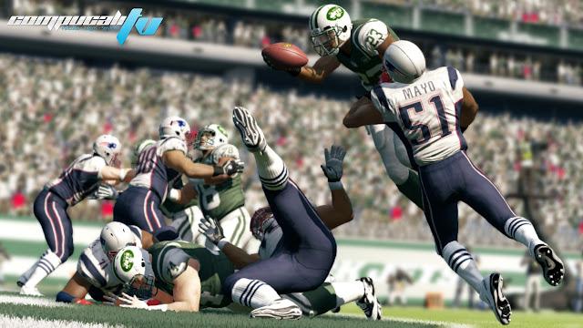 Madden NFL 13 Xbox 360 Region Free Descargar 2012 DVD9
