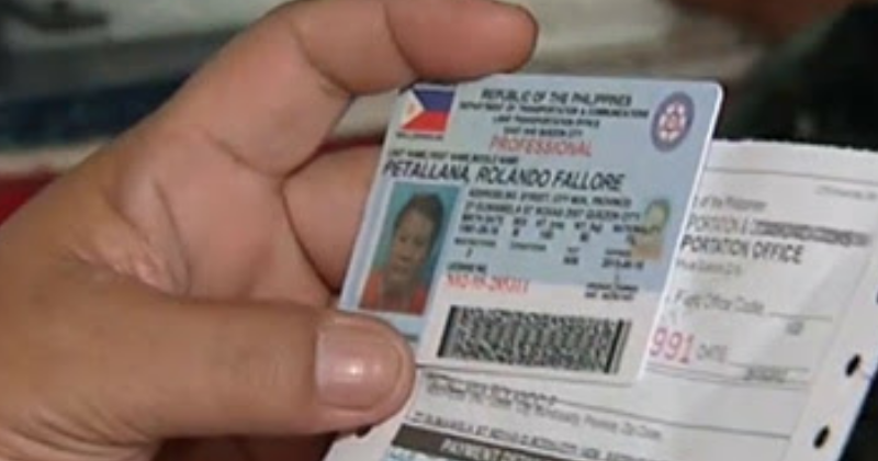 Driver's License validity extends to 5 years starting October