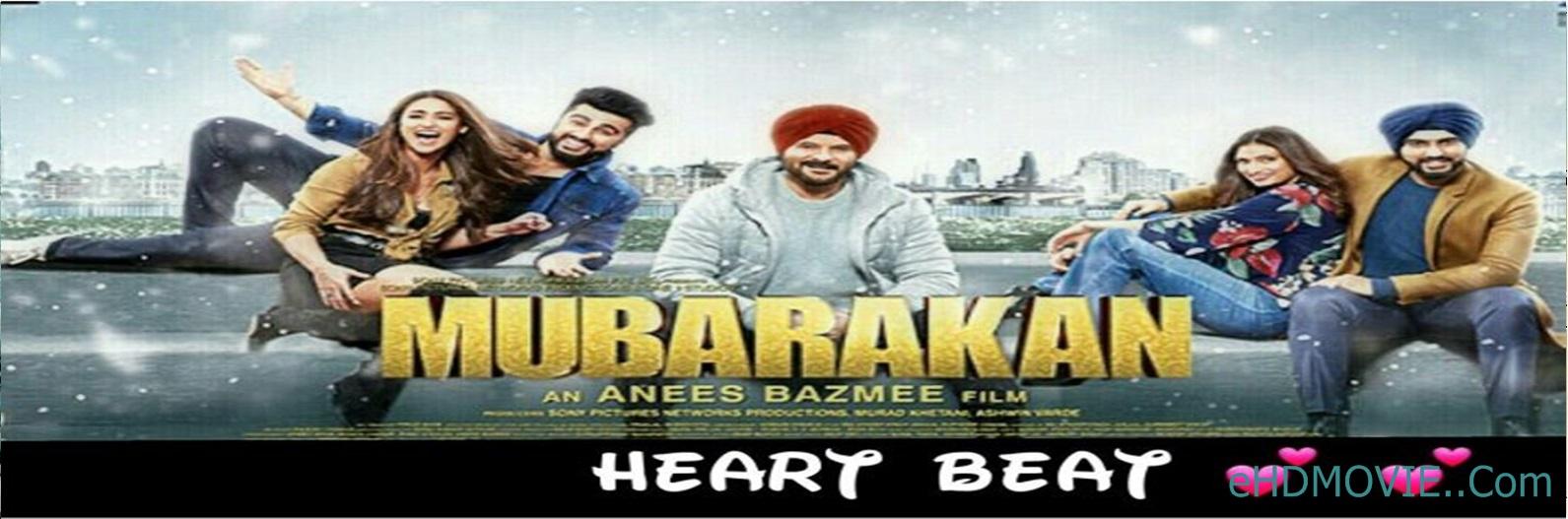 Mubarakan 2017 Full Movie Hindi 720p - 480p ORG BRRip 550MB - 1.2GB ESubs Free Download
