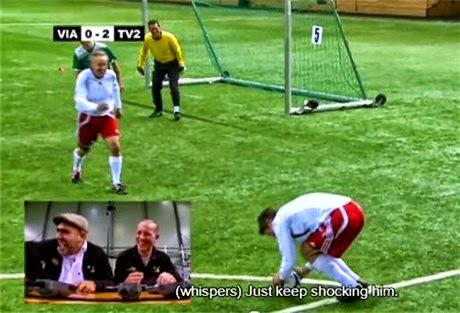 voetbal speler goal