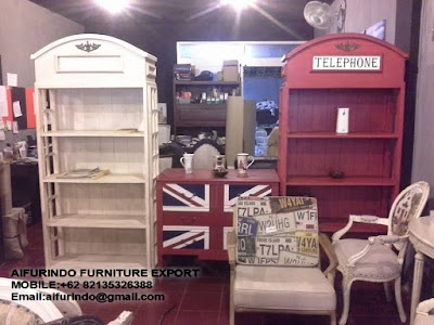 Indonesia Furniture wholesaler and exporter,sell Duco painted Armoire, Duco Painted Indonesia Furniture