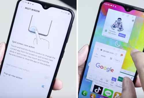 Cara Membuka Banyak Aplikasi Di Samsung M20 Dalam Satu Layar Dunia Android