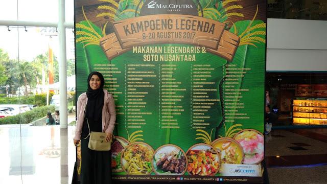 Jelajah Kuliner Nusantara di Kampoeng Legenda Mal Ciputra