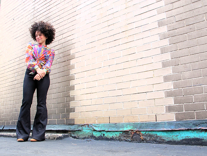 oonaballoona | a sewing blog by marcy harriell | Birkin Flares + BHL Sarah shirt