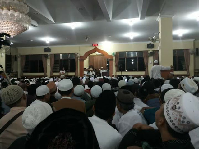 Bikin Merinding, Begini Detik-Detik Penyambutan Kedatangan Ust Abdul Somad di Bali