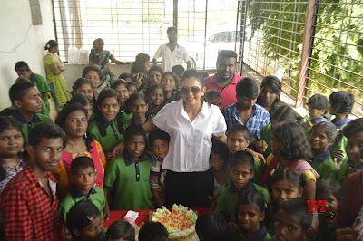 Rakul-Preet-Singh-Birthday-Celebrations-at-Cherish-Orphanage-Home-in-Rajendra-Nagar