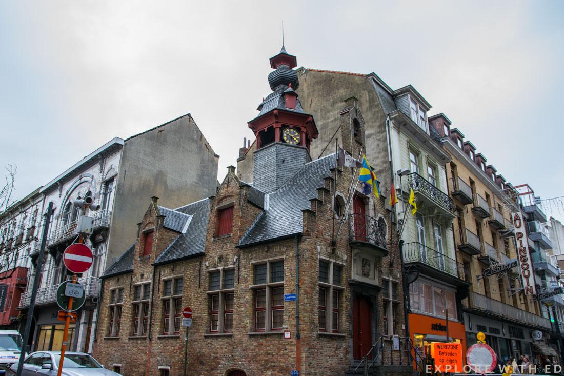 Blankenberge Belgium buildings
