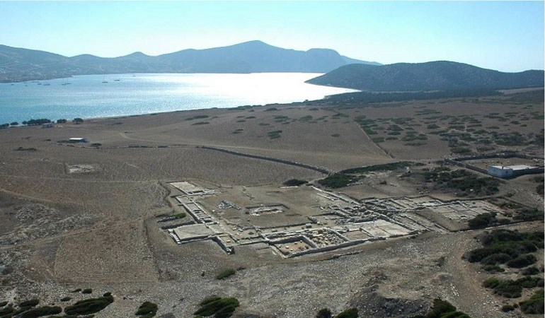 Εντυπωσιακή αναστήλωση του Ιερού ναού του Απόλλωνα στο Δεσποτικό...