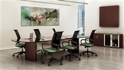Powered Conference Table from Mayline