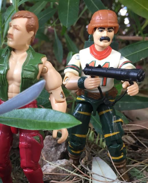 1988 Tiger Force Bazooka, Night Force Crazylegs, 1982 VAMP, Wildcard
