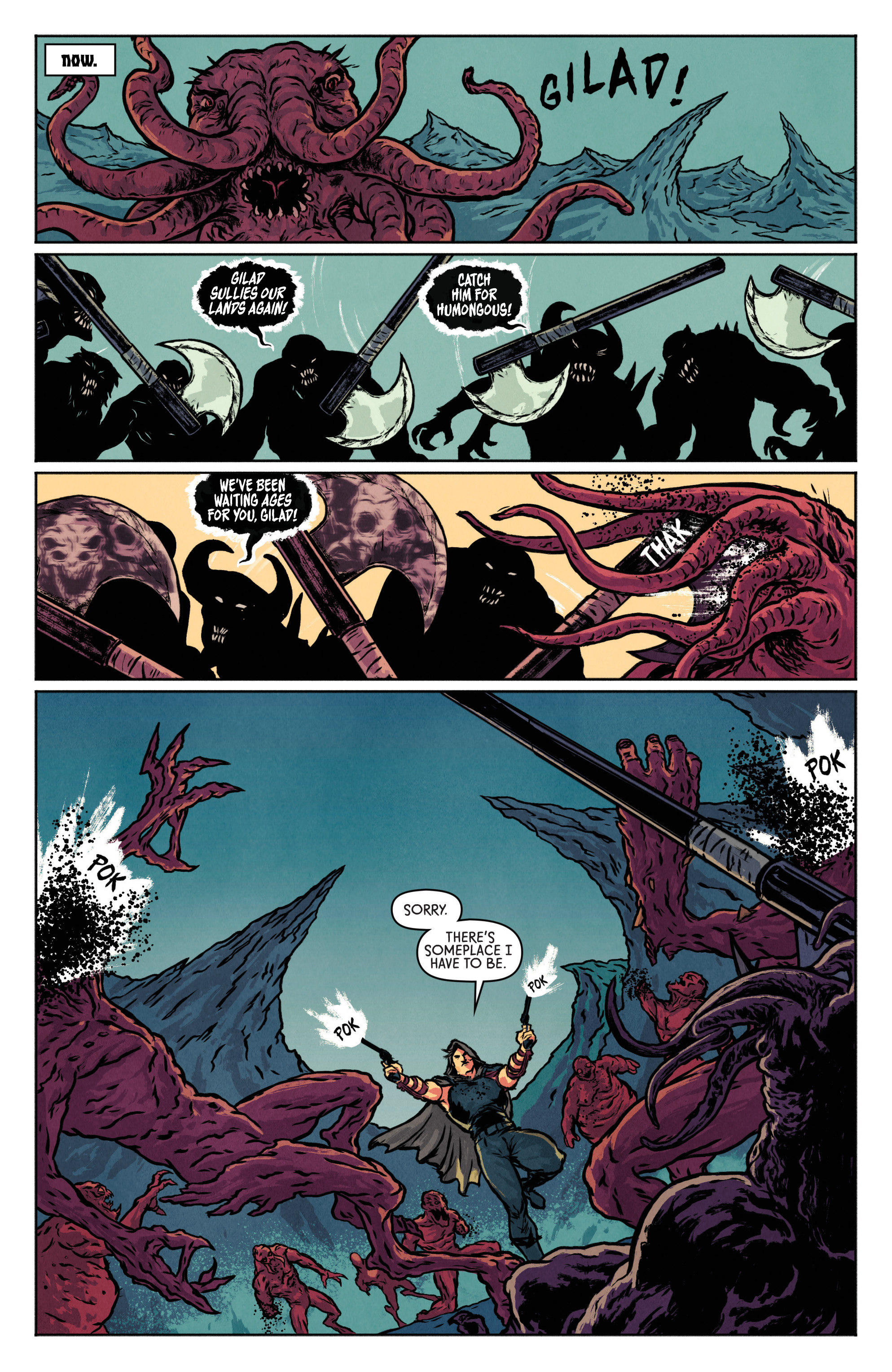 Read online Wrath of the Eternal Warrior comic -  Issue #3 - 16