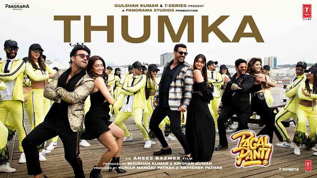 Thumka Lyrics - Pagalpanti | Honey Singh