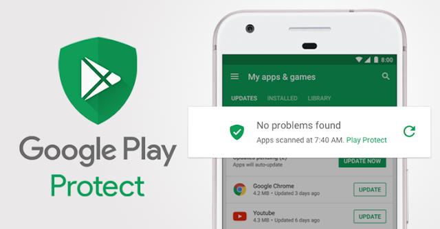 Google Play Protect, Security Tool Android Pembasmi Malware Di Playstore, Begini Cara Mengaktifkannya