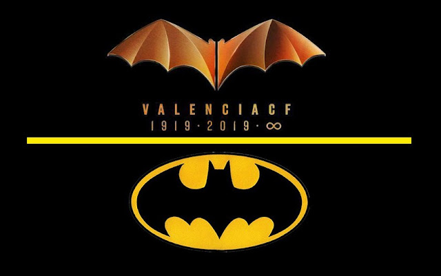 DC Comics vuelve a denunciar al Valencia CF por plagiar su logo de Batman
