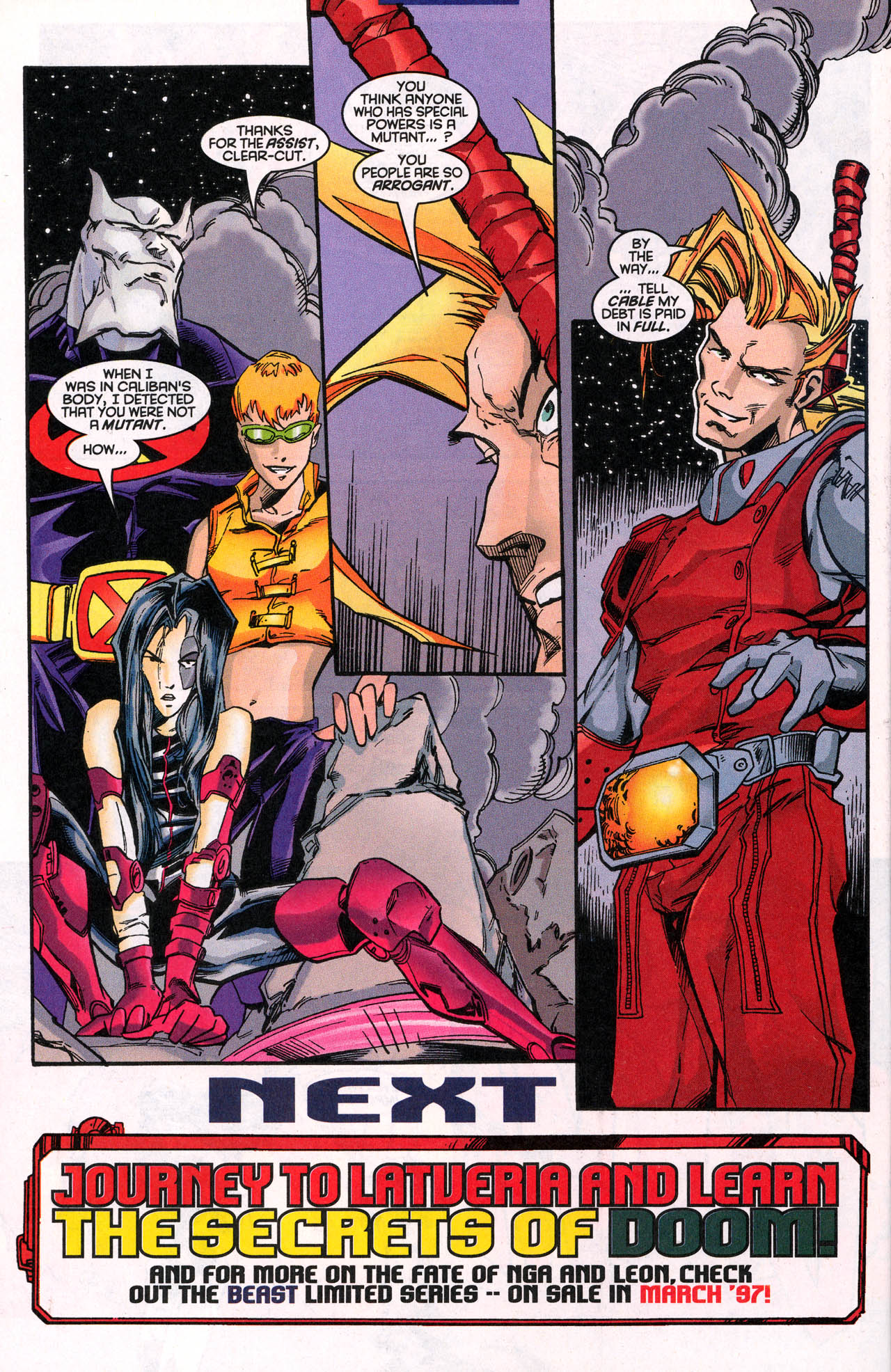 Read online X-Force (1991) comic -  Issue #62 - 31