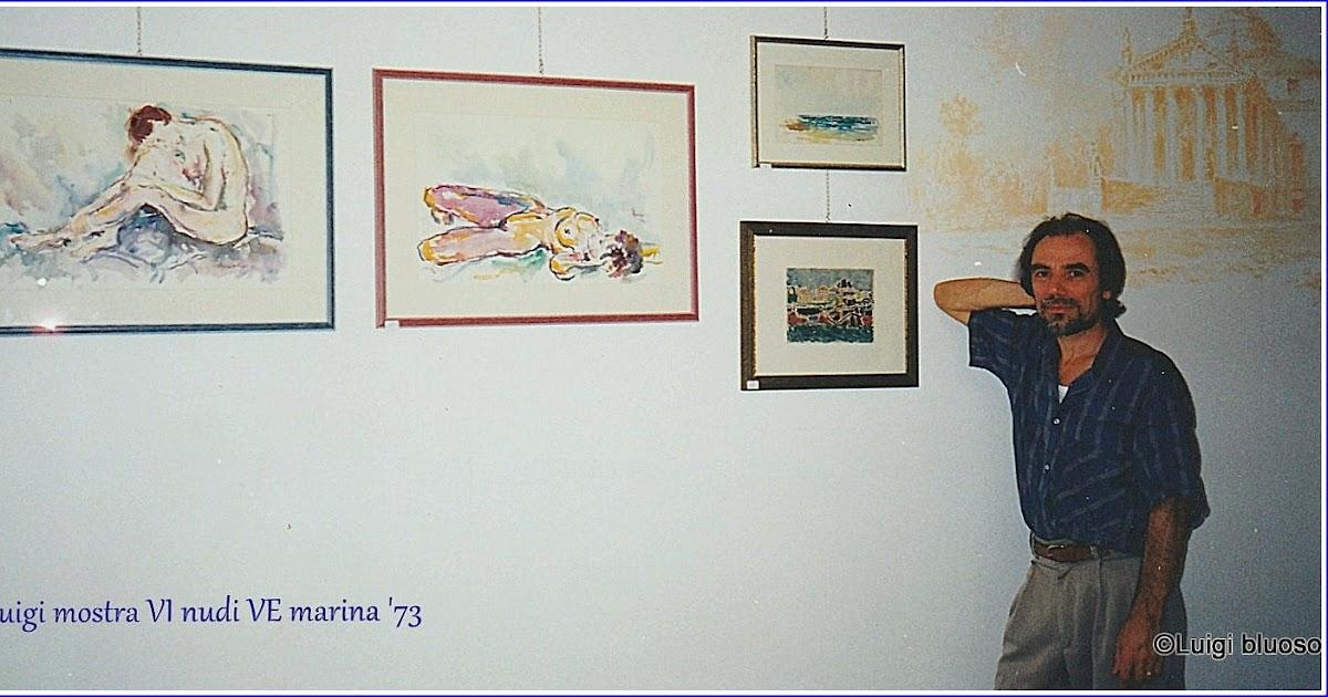 Mostra personale a Vicenza 15 anni fa