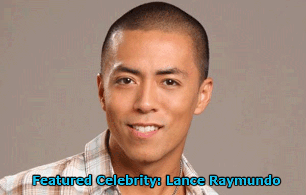 Featured Celebrity: Lance Raymundo