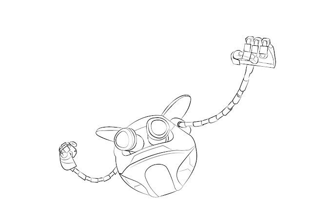 Ochobot from Boboi Boy