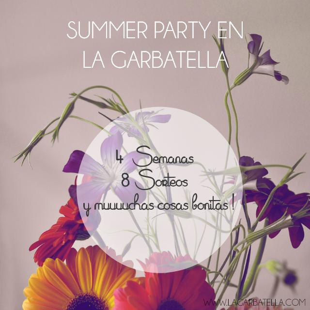 Sorteo verano La Garbatela