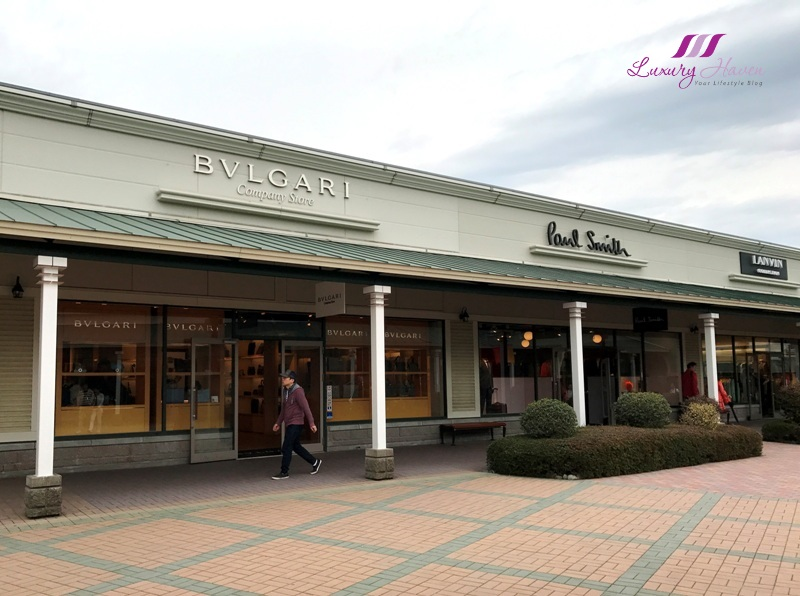 gotemba premium outlet shopping bvlgari sale