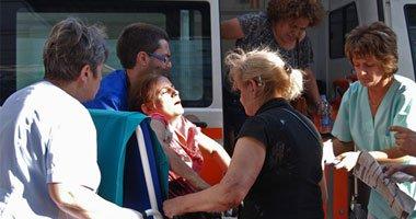 وقع اصابات فى انفجار ضخم هز مطار مدينة سبليت فى كرواتيا