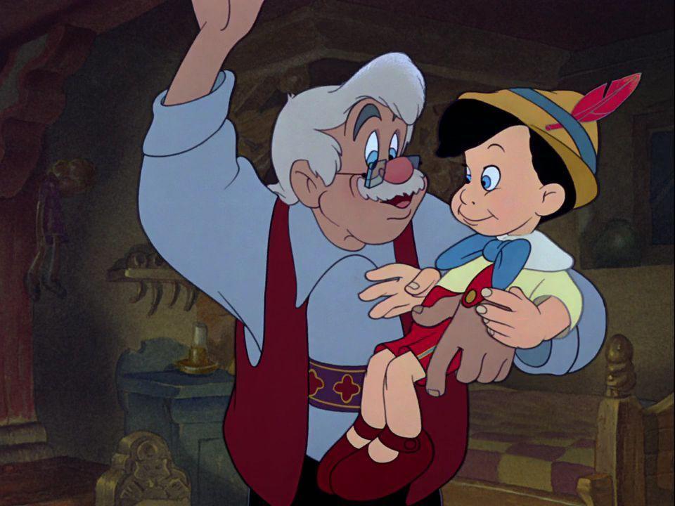 Pinocchio Und Gepetto