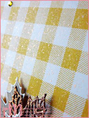 Stampin' Up! rosa Mädchen Kulmbach: Stamp Impressions Blog Hop: A rainbow of autumn colors: Grußkarten in Prachtfarben mit Jahr voller Farben und Buffalo Check