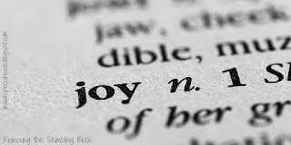 joy; Removing the Stumbling Block