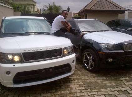 kcee+car+2 EXCLUSIVE PHOTOS OF ALL NIGERIAN CELEBRITIES WHO ACQUIRED NEW CARS IN 2013