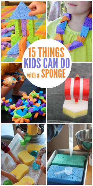 sponge activities for kids