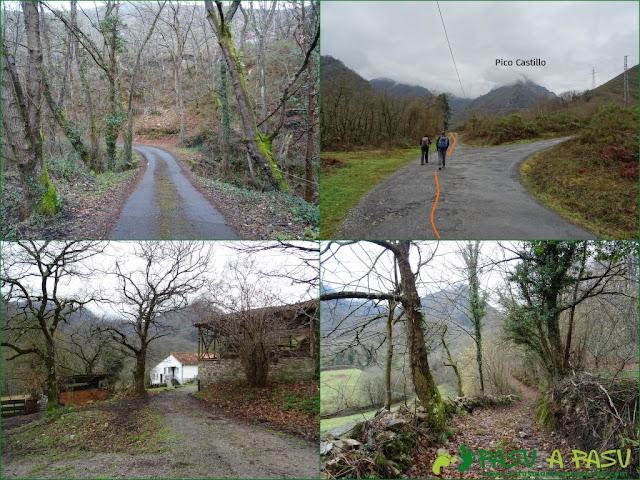 Ruta al Pico Castillo y la Rozada: De Alvariza a Estilleiro